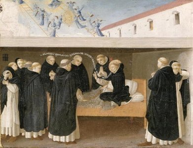 The Death of St. Dominic