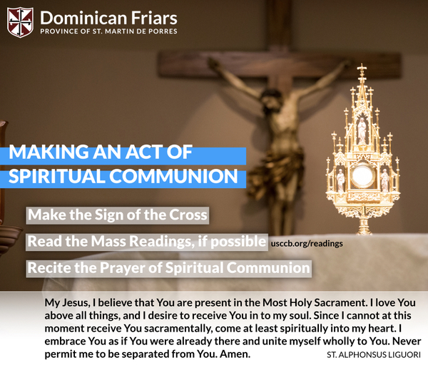 How to Make a Spiritual Communion